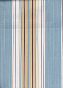Blue Stripe Indoor Outdoor Tablecloth - Fabric 52x70