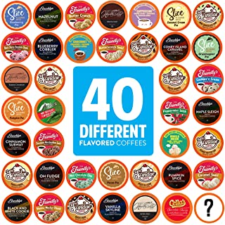 Two Rivers Coffee Pods Compatible with Keurig K Cup Brewers (Assorted Flavored Coffee, 40 Count (Pack of 1))
