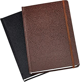 Amazon Basics Shagreen Journal, 2-Pack