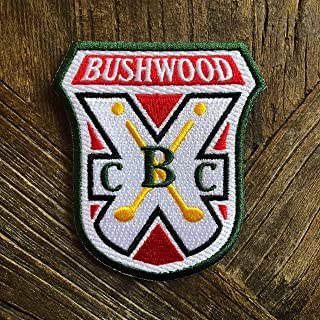 9bda8eba4e48e Bushwood Country Club Caddyshack Morale Patch – Hook Backed with Loop  Attachment Piece That Can Be