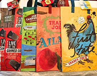 Trader Joe's group B Collection of Reusble totes Bags