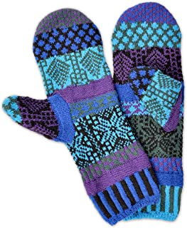 Solmate Brand USA Made Mismatched Fleece Lined Mittens for Men or Women