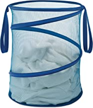 "Whitmor 15 INCH COLLAPSIBLE LAUNDRY HAMPER-BLUE, 15"","