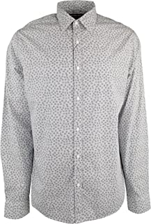 Men's Slim Fit Botanical Cotton Long Sleeve Shirt