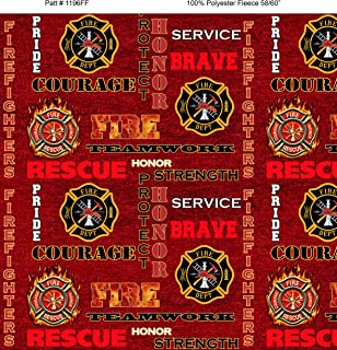 fire department fabric
