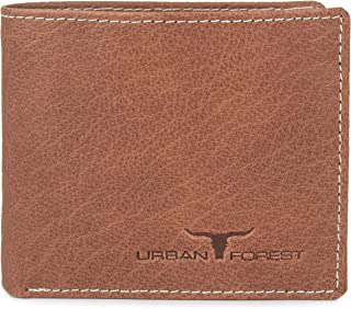 URBAN FOREST Philip Men's Leather Wallet (Red Wood)