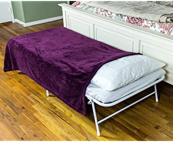 SpaceMaster iBED Cot Size Hideaway Folding Cot Camping Bed with 2 Inch Foam Folding Mattress and Carry Case Under Bed...