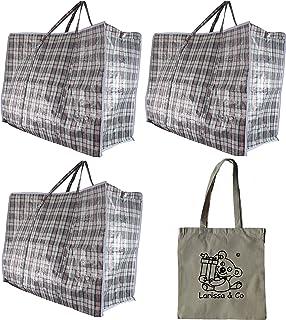 Amazon.es: bolsas rafia - 4 estrellas y más