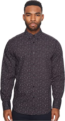Ben Sherman - Long Sleeve Floral Print Shirt