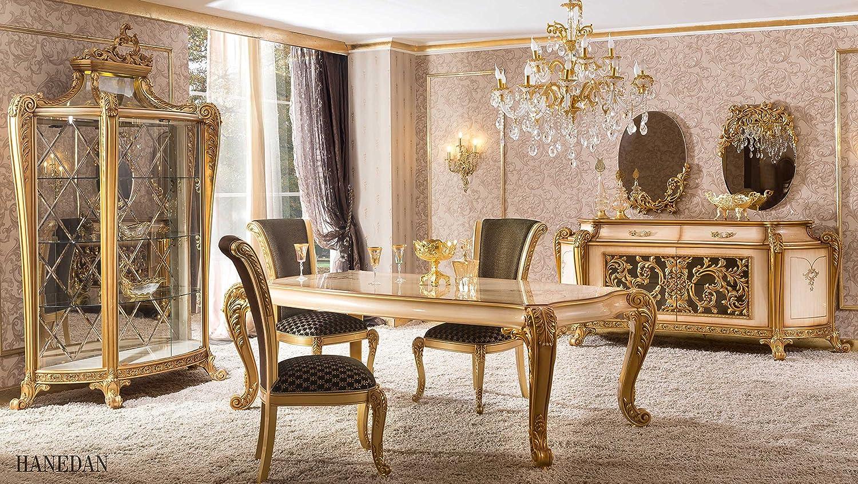 Classic Luxury Dining Room Set   Hanedan 9 Dining Table, 9 Dining ...