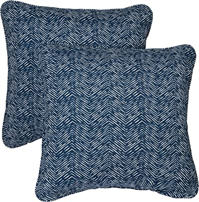 Amazon.com : Majestic Home Goods Navajo Reading Pillow, Navy ...