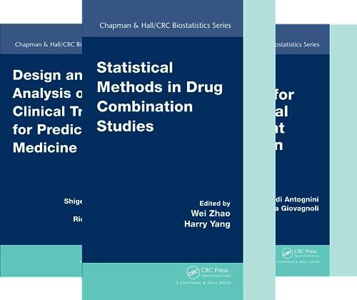 Chapman & Hall/CRC Biostatistics (51-100) (50 Book Series)