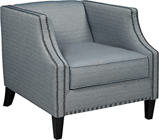Benchcraft - LaVernia Traditional Upholstered Accent Chair - Navy
