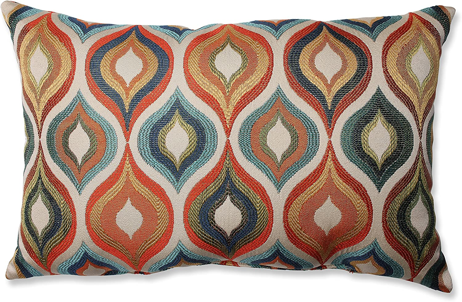 OFFicial store Pillow Perfect Flicker Sale special price Jewel Multicolor Throw Rectangular