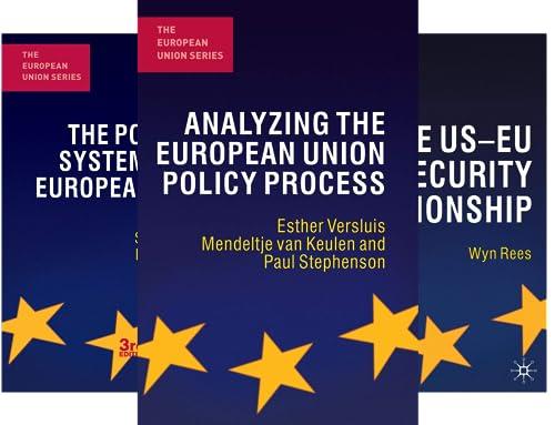 The European Union (35 Book Series)