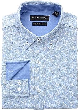 Paisley Print Knit Shirt