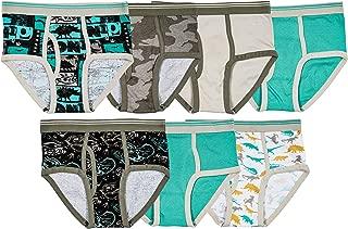 Trimfit Boys 100% Cotton Colorful Briefs Underwear (Pack of 7)