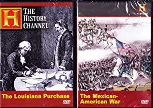 The History Channel : The Louisiana Purchase , the Mexican American War : Expanding America's Borders 2 Pack