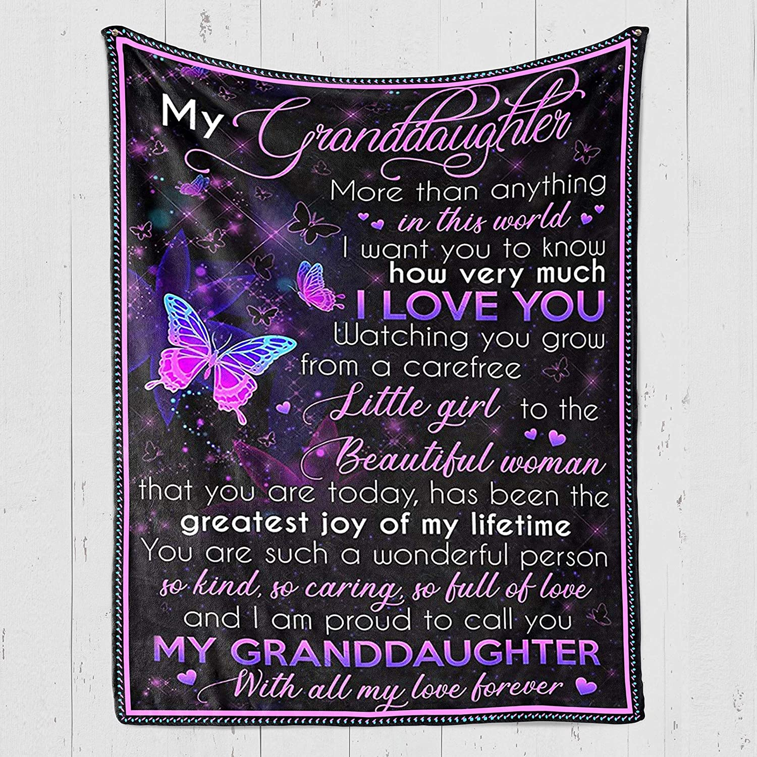 thanhlk Custom Blanket Personalized - Price reduction Grand Butterfly My Max 43% OFF