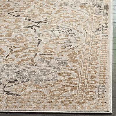 Tapis tapis de passage d'intérieur traditionnel tissé , collection Vintage, VTG175, en crème, 66 X 244 cm pour le salon, la chambre ou tout autre espace intérieur par SAFAVIEH.