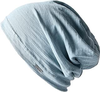 CHARM Casualbox   Mens Womens Beanie Hat Summer Cotton Thin Light Slouchy Unisex Sweat