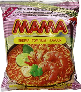 Best Mama Instant Noodle, Tom Yum Shrimp Spicy Flavor, 3.17 Ounce (Pack of 20) Review