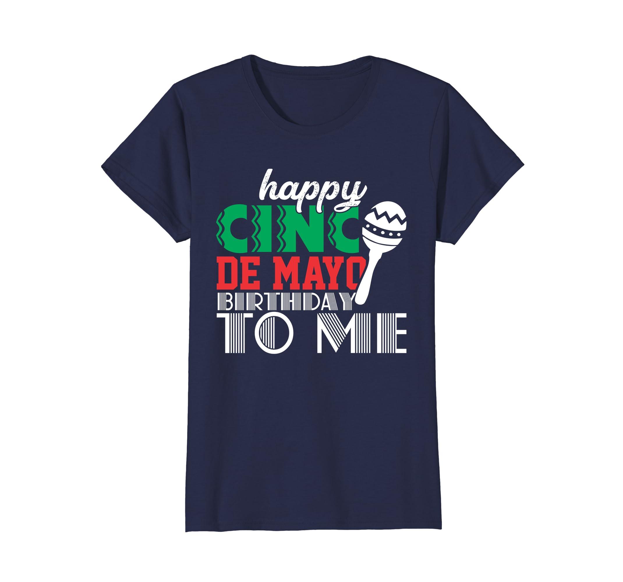Amazon May Birthday Shirts Cinco De Mayo 5th Funny Adult Kids Clothing