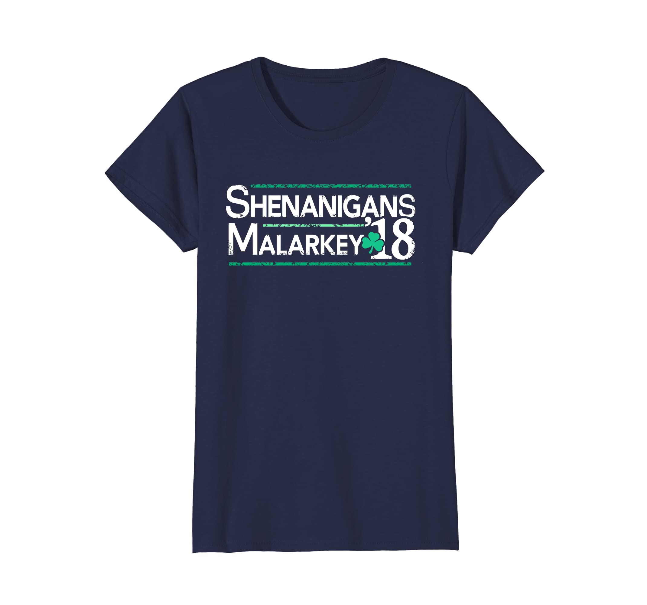 332559c65 Amazon.com: Shenanigans and Malarkey T-Shirt, St Patricks Day 2018 Shirt:  Clothing