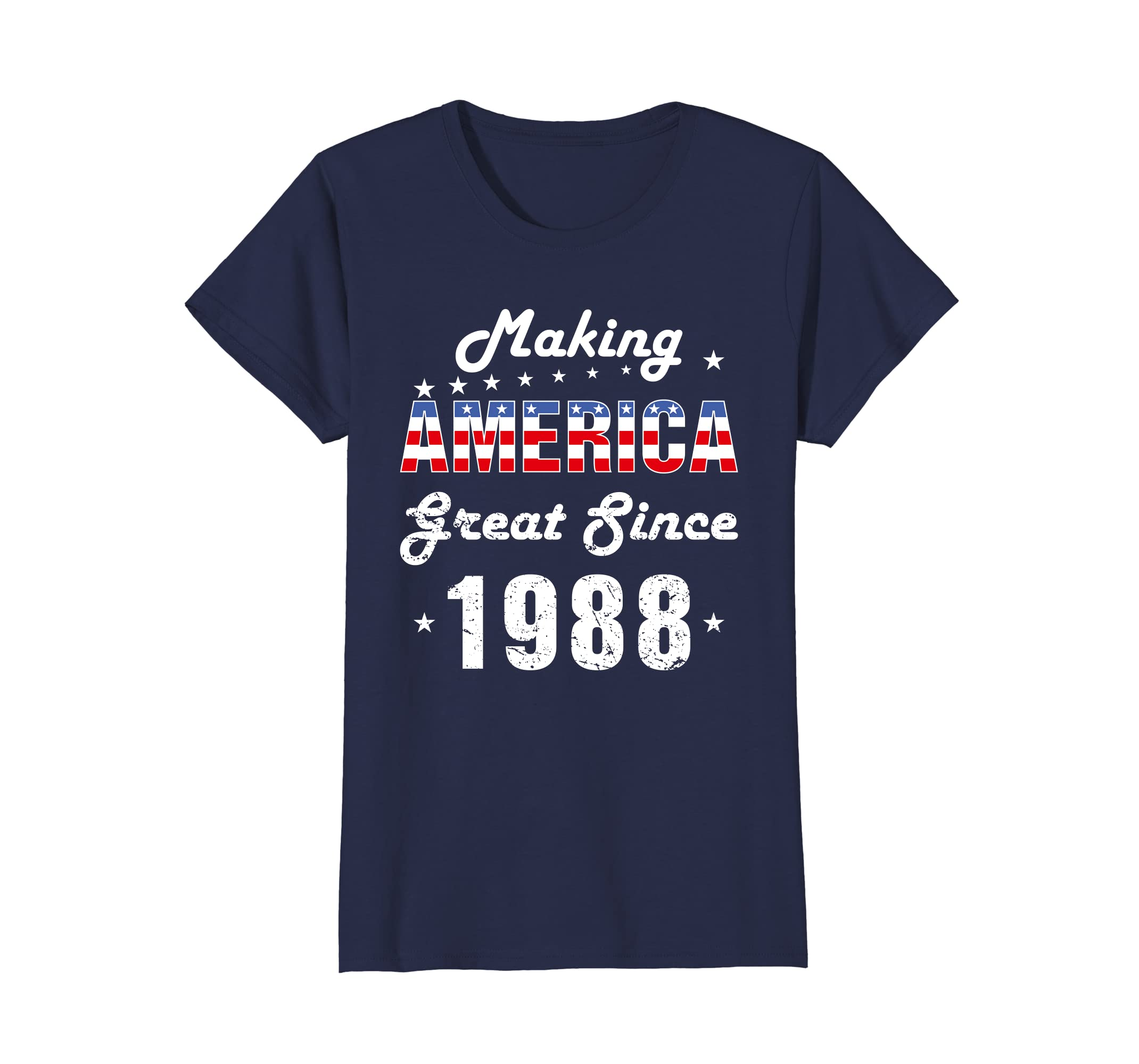Amazon Making America Great Since 1988 30th Birthday Gift T Shirt Clothing