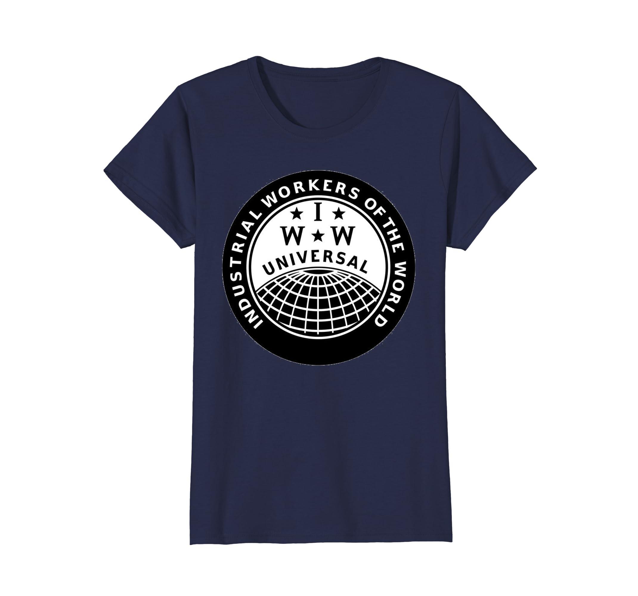 dcce59f09cca25 Amazon.com: IWW Logo Shirt!: Clothing