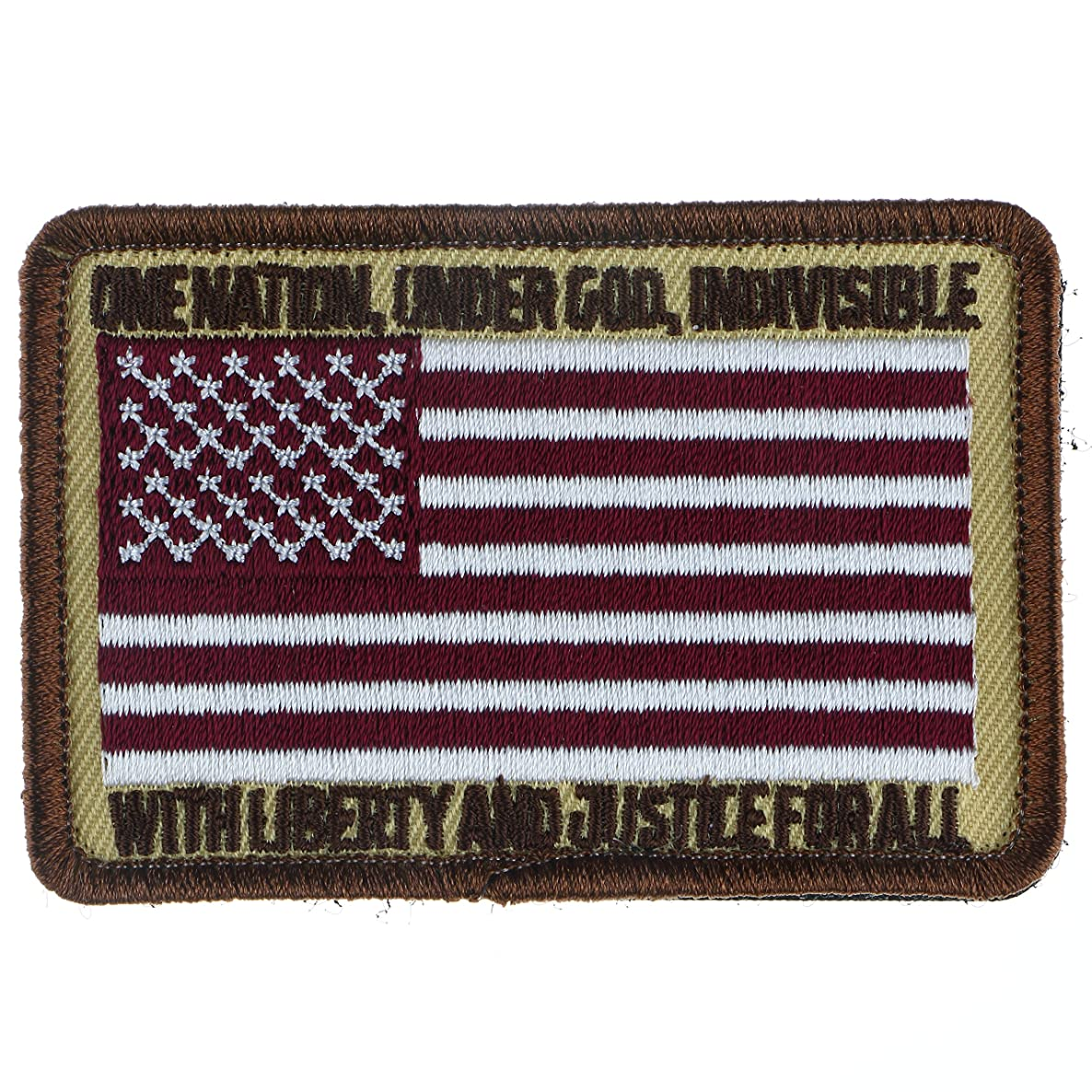 Tactical Patch : USA Flag - One Nation Under God