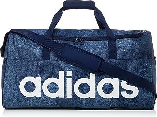 adidas Linear Performance M Team Bag, Raw Steel/Collegiate Navy/White, (DJ1422)