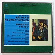 The Music of Arnold Schoenberg, Vol. 2: Prelude to Genesis / 3 Little Orchestral Pieces / Transfigured Night / Pelleas and Mellsande / Variations for Orchestra / Robert Craft