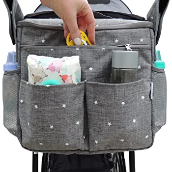 Drink Cup Bottle Holder Bag for Bicycle Baby Stroller Pram Buggy Pushchair HU