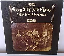 Crosby Stills Nash Deja Vu Vinyl Record LP Album - SD-7200 - Pop Folk Rock Music - VG++