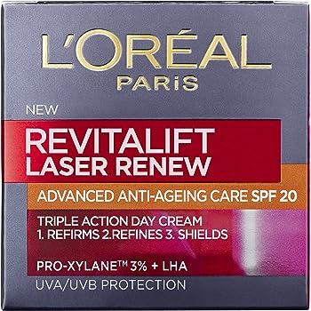 L'Oreal Paris Revitalift Laser Renew Anti Ageing Firming Day Cream SPF 20 50 ml