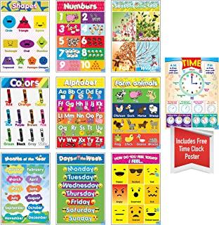 Best toddler educational posters Reviews