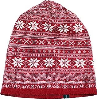 Norwegian Womens 100% Merino Wool Knit Beanie Cap