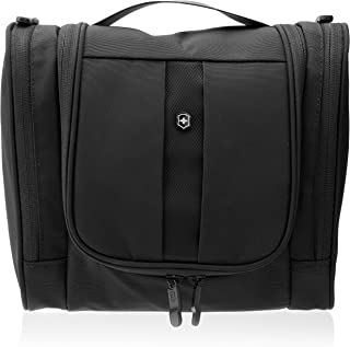 Victorinox Lifestyle Accessories 4.0 Hanging Toiletry Kit (Black/Black Logo)