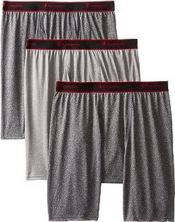 Men's 3-Pack Active Performance Long Leg Boxer Briefs