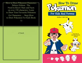 How To Draw Pokemon For Kids (2 Book Series)