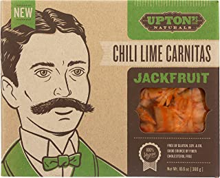 Upton's Naturals Jackfruit - 10.6 oz boxes (Pack of 10) (Chili Lime Carnitas)