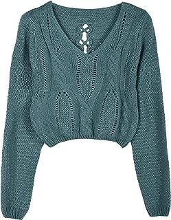 knit sweater crop