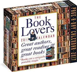 The Book Lover's Page-A-Day Calendar 2017