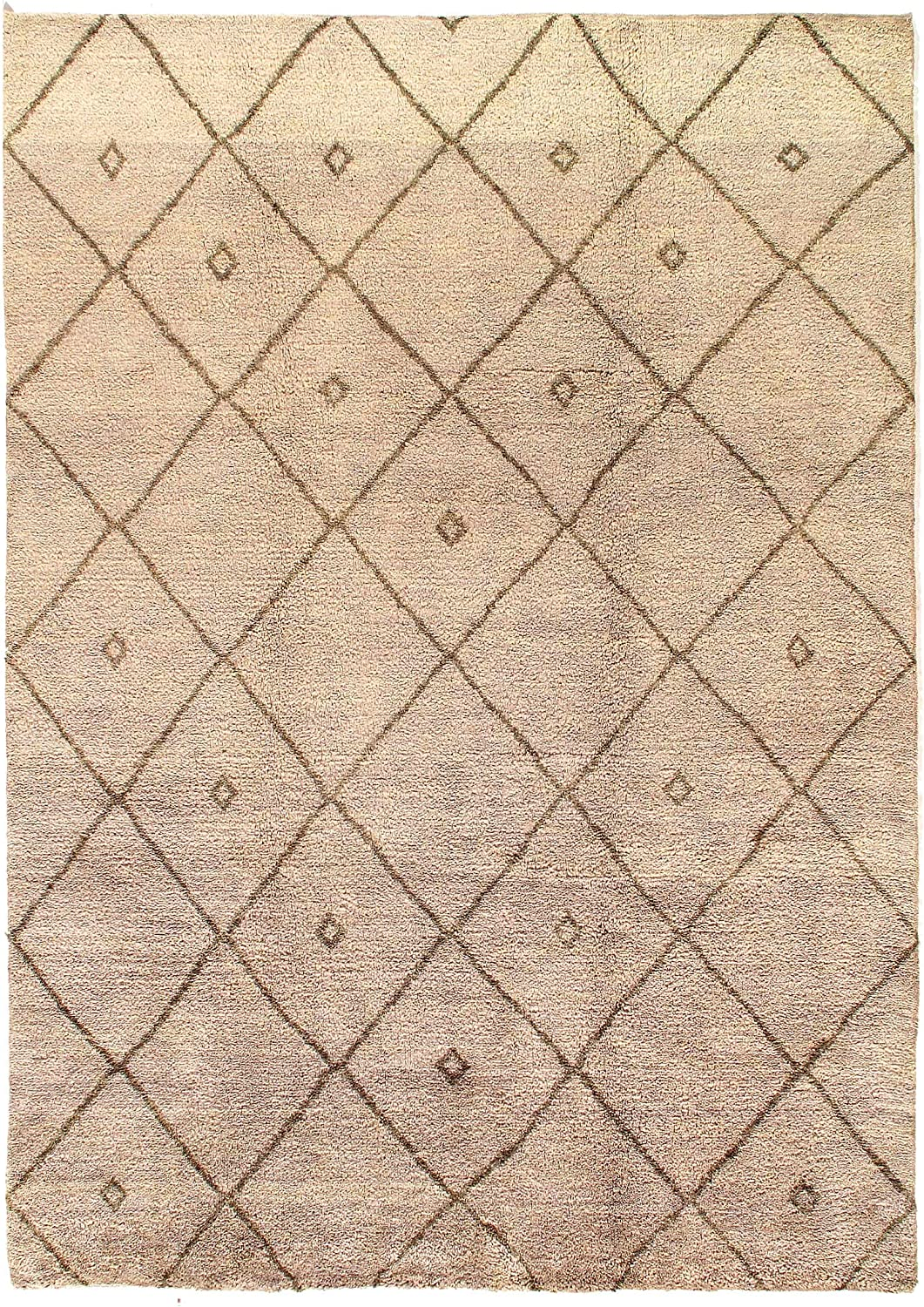 Calicomfy Hand Made Al sold out. Anti Slip Beige Home Area Rug Moroccan overseas for
