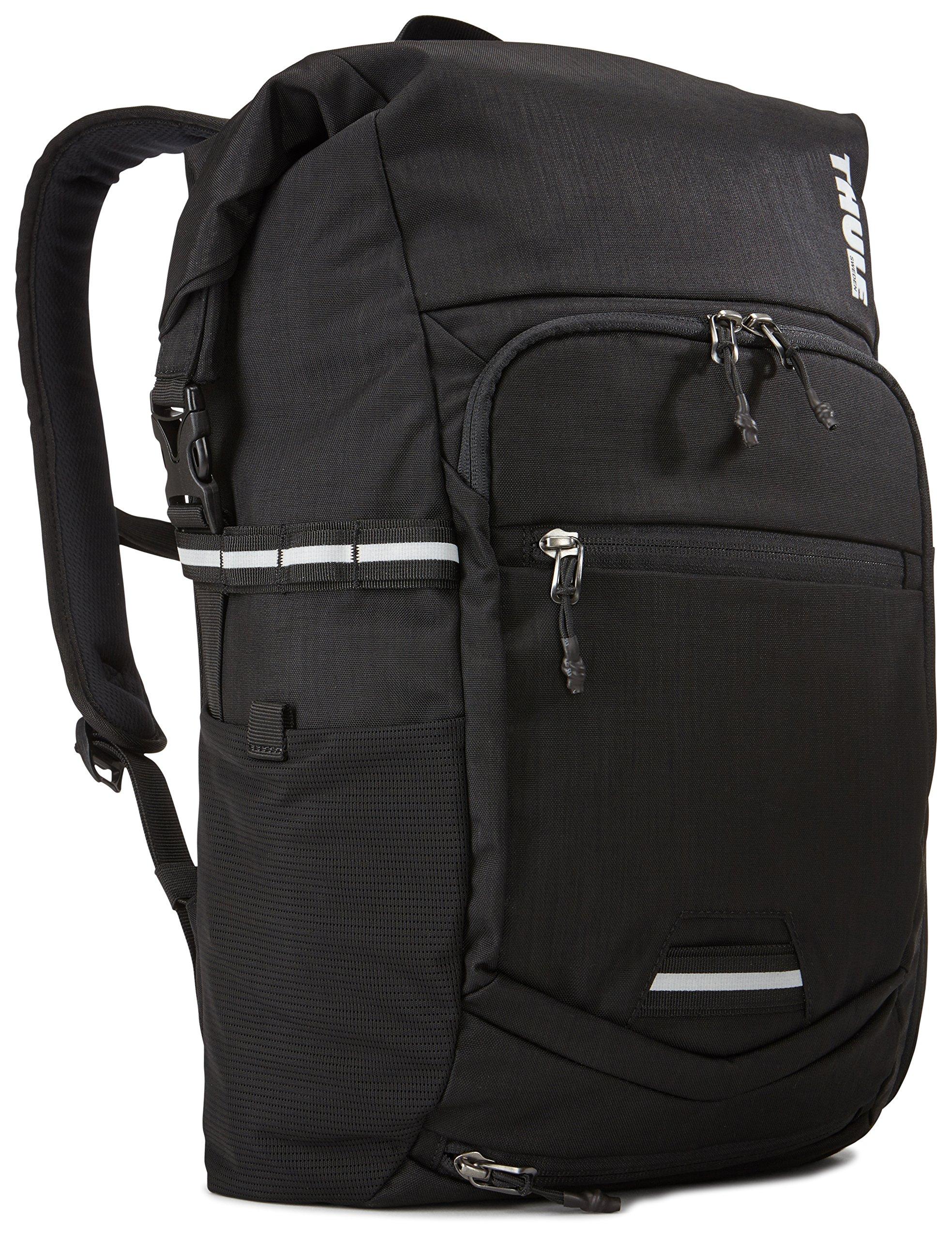 Thule Mochila Pack n Pedal para viajeros, Color Negro: Amazon.es: Deportes y aire libre