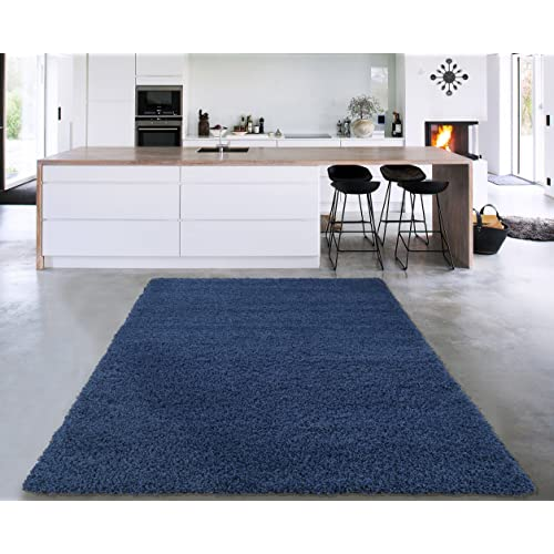 Navy Blue Rugs for Bedroom: Amazon.com