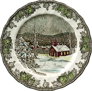 Johnson Brothers A4038101005 Friendly Village Dinner Plate, 10