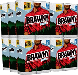 Brawny Pick-a-Size Paper Towels, 24 Giant Rolls