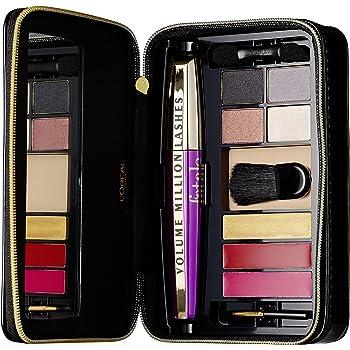 LOréal Paris Make-Up Designer Extravaganza Goes Fatale Giftset - Sets de maquillaje (Mujeres, Multi, Negro, Alargador de pestañas, Voluminizadora, Rojo, Oro): Amazon.es: Belleza